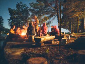 Open kamp